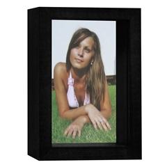 Porta Retrato Caixa Color 15x21cm Preto - Kapos