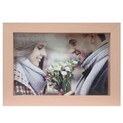 Porta Retrato Caixa Color 15x21cm Rosa - Kapos