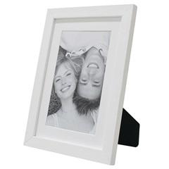 Porta Retrato com Paspatur Insta 15x21cm Branco - Kapos