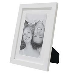 Porta Retrato com Paspatur Insta 18x24cm Branco - Kapos