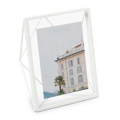 Porta Retrato em Metal Garden 20x15cm Branco - Casa Etna