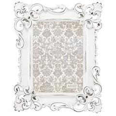 Porta Retrato em Resina Classic 25x20cm Branco - Casa Etna