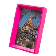 Porta Retrato Nita 10x15cm Rosa - Casa Etna