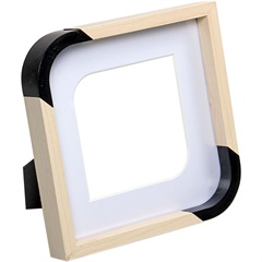 Porta-Retrato Scoop 15x15cm Branco