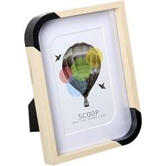 Porta-Retrato Scoop 15x20cm Branco - Importado