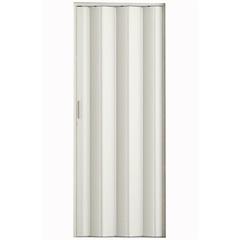 Porta Sanfonada com Puxador E Trinco 210x72cm Branca - Metropac