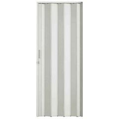 Porta Sanfonada Plast Porta com Puxador E Trinco 210x60cm Branca - BCF