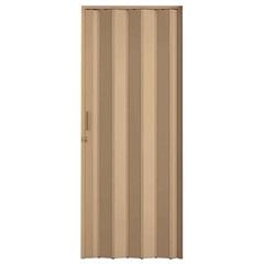 Porta Sanfonada Plast Porta com Puxador E Trinco 210x72cm Bege - BCF