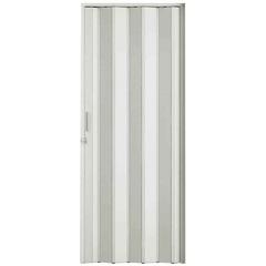 Porta Sanfonada Plast Porta com Puxador E Trinco 210x72cm Branca - BCF