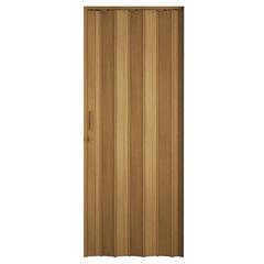 Porta Sanfonada Plast Porta com Puxador E Trinco 210x72cm Cerejeira - BCF