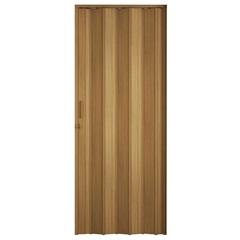 Porta Sanfonada Plast Porta com Puxador E Trinco 210x84cm Cerejeira - BCF