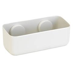 Porta Shampoo Fixa sem Furar Off White - Arthi