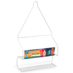 Porta Shampoo Pop Emborrachado Branco - Arthi