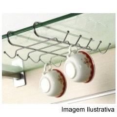 Porta Xícaras Cromado  - Wireking