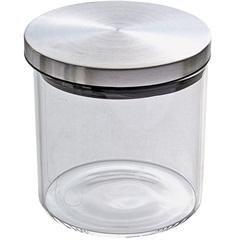 Pote de Vidro com Tampa Hermética Pequeno - Importado