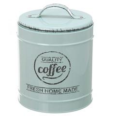 Pote em Metal Coffee Lille Verde 13,3cm - Casa Etna