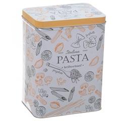 Pote em Metal Pasta Siena Colors 18x9x12cm - Casa Etna