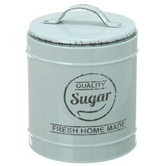 Pote em Metal Sugar Lille Verde 13,3cm - Casa Etna