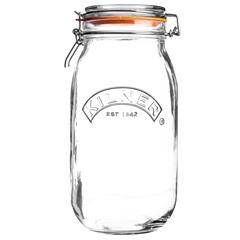 Pote em Vidro com Clip Kilner 1,5 Litros - Casa Etna