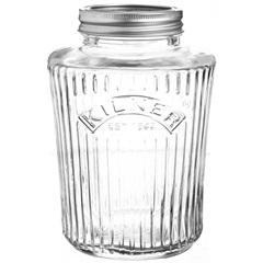 Pote em Vidro com Tampa Rosca Kilner 1 Litro - Casa Etna