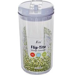 Pote Hermético em Acrílico Flip-Tite 1,1 Litro Transparente - Casanova
