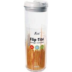 Pote Hermético em Acrílico Flip-Tite 1,7 Litro Transparente - Casanova