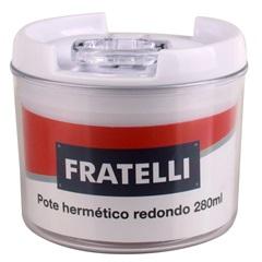 Pote Hermético Redondo 280ml - Fratelli