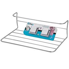 Prateleira com Porta Toalhas E Fixação por Sucção Cromado - Arthi