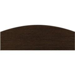 Prateleira em Arco Tabaco 60x20x1,8cm  - Bemfixa