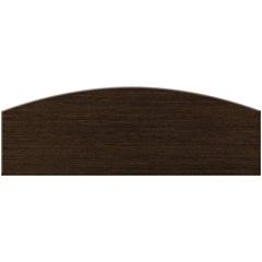 Prateleira em Arco Tabaco 80x20x1,8cm  - Bemfixa