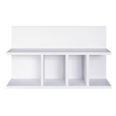 Prateleira Multiuso Branco 40x61x15cm - Estilare Móveis