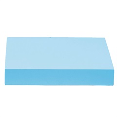 Prateleira Reta Color 25x25cm Azul Tiffany - Decorprat