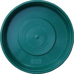 Prato em Plástico para Vaso 12cm Verde - West Garden