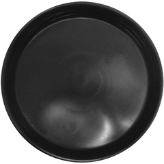 Prato em Plástico para Vaso 23cm Laranja - West Garden