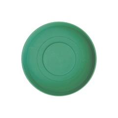 Prato em Plástico para Vaso Veneza 12 Cm Verde Pastel - West Garden