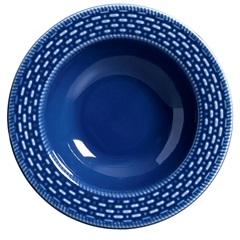 Prato Fundo Cestinha 25,5cm Azul - Scalla