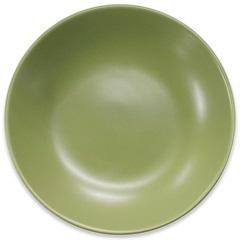 Prato Fundo em Cerâmica 20,5cm Verde - Importado