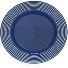 Prato Fundo em Cerâmica Argos 22cm Azul - Casa Etna