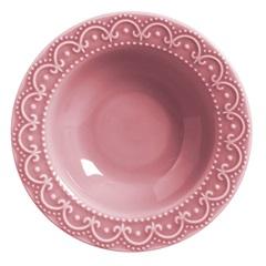 Prato Fundo Princess 25,5cm Rosa - Scalla