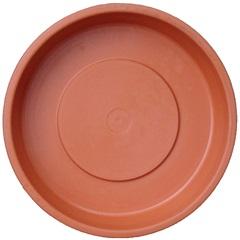 Prato para Vaso de Plantas 12cm Terracota - West Garden