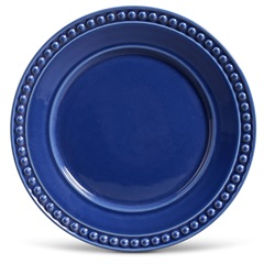 Prato Raso em Cerâmica Atenas 26cm Azul Navy - Porto Brasil Cerâmica