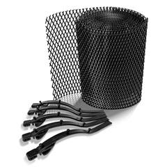 Protetor Tela para Calha em Plástico 6 Metros - Calha Forte