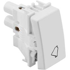 Pulsador para Campainha 10a 220v Branco S19 - Simon