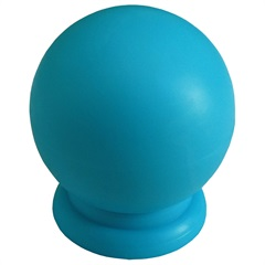 Puxador Bola Grande Azul - Fixtil