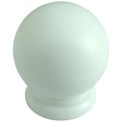 Puxador Bola Grande Branco - Fixtil