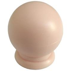Puxador Bola Grande Rosa - Fixtil
