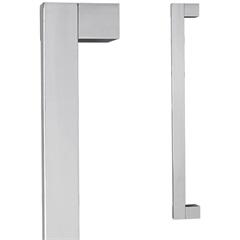 Puxador para Porta em Alumínio Concept Pca02 80cm Polido - Pado