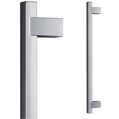 Puxador para Porta em Alumínio Concept Pca04 60cm Escovado