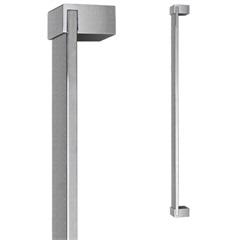 Puxador para Porta em Alumínio Concept Pca04 80cm Escovado - Pado