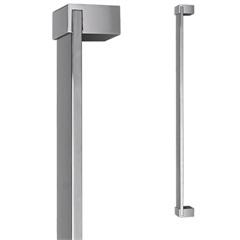 Puxador para Porta em Alumínio Concept Pca04 80cm Polido - Pado